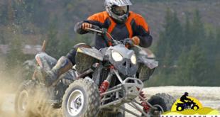دور زدن با موتور چهارچرخ ۲