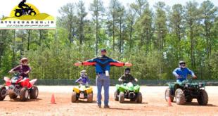 تمرین های آموزشی رانندگی با چهارچرخ