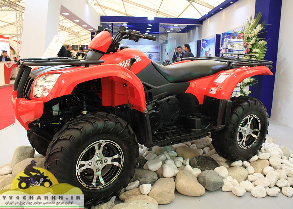 موتور چهارچرخ ایران دوچرخ ۵۰۰