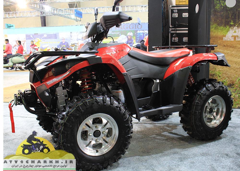 موتور چهارچرخ کویر ۲۵۰